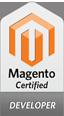 InBusiness har 2 sertifiserte Magento utviklere.